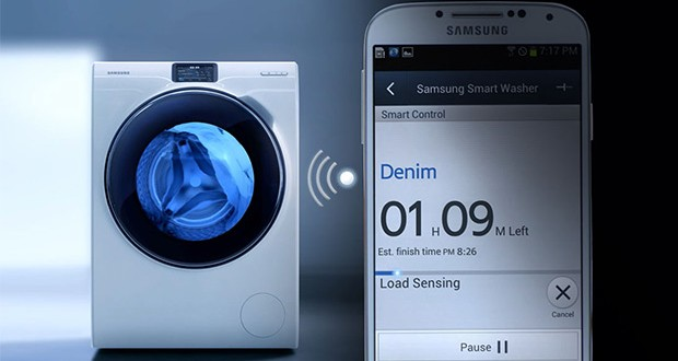 samsung smart washer fernsteuerung ihrer waschmaschine. Black Bedroom Furniture Sets. Home Design Ideas