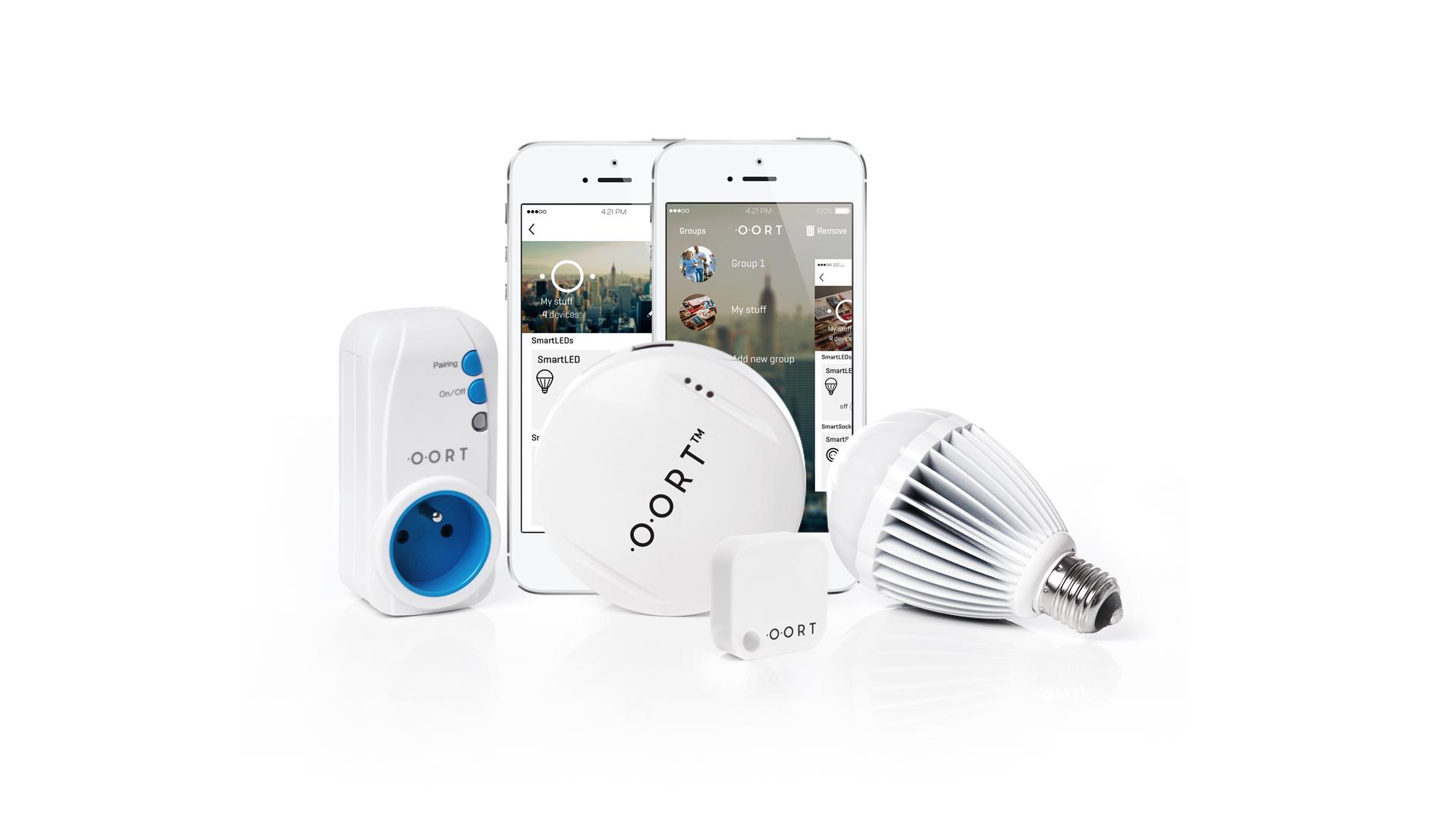 oort smart home system mit bluetooth smart. Black Bedroom Furniture Sets. Home Design Ideas