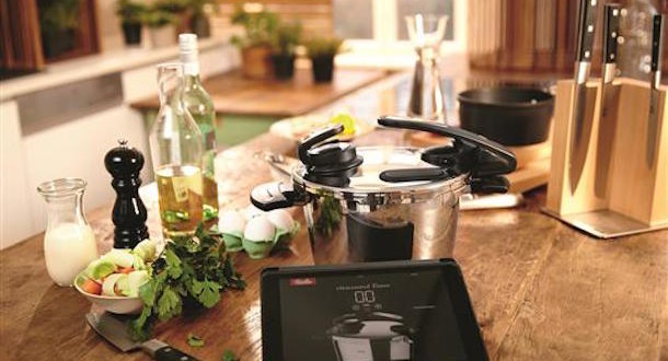 fissler vitacontrol digital schnellkochtopf mit cooking app. Black Bedroom Furniture Sets. Home Design Ideas