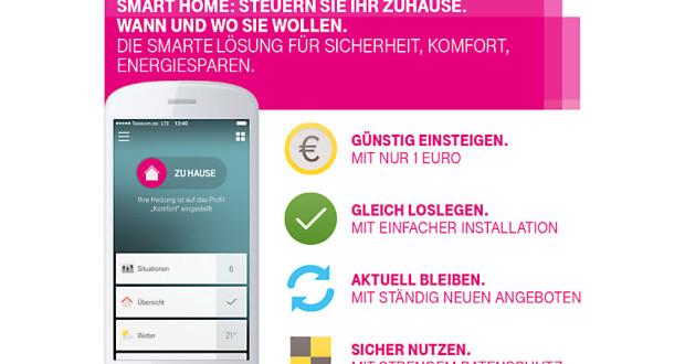 telekom smart home ab sofort im laufzeittarif ab 1 euro. Black Bedroom Furniture Sets. Home Design Ideas