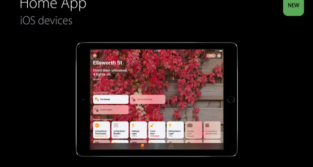 Apple HomeKit Bridge iPad HomeKit Kamera