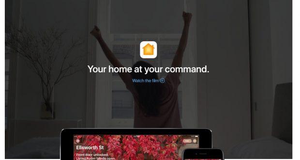 HomeKit-Webseite