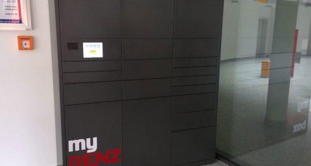 intelligente paketkastenanlagen von renz sonderpreis des. Black Bedroom Furniture Sets. Home Design Ideas
