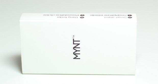 MYNT Tracker Verpackung