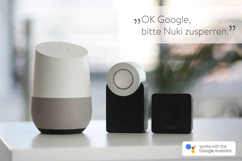 Nuki Smart Lock Google Home