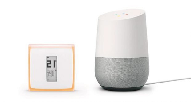 netatmo thermostat und google home okay google heiz mir ein. Black Bedroom Furniture Sets. Home Design Ideas
