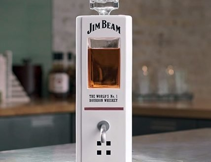 JIM BEAM DECANTER17