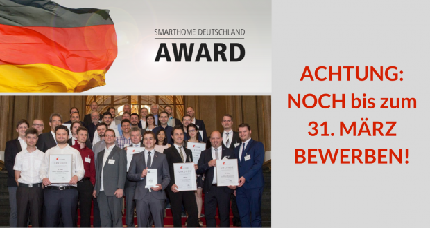 SmartHome Deutschland Award 2018