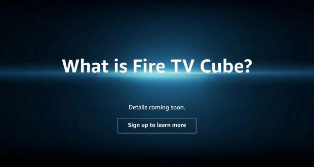 Fire TV Cube