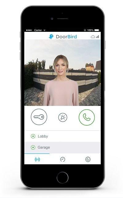 DoorBird und Knobloch App