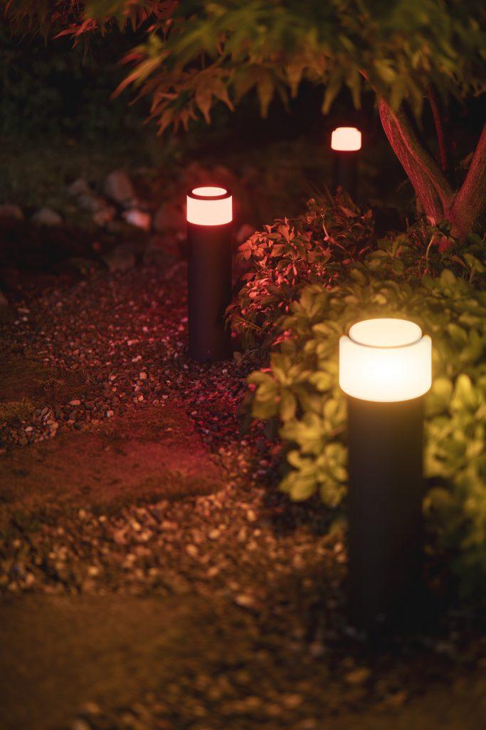 Philips Hue Outdoor Leuchten Calla Pedestal