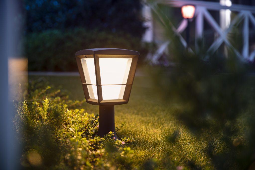 Philips Hue Outdoor Leuchten Econic Pedestal Wegleuchte
